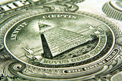 Het Oog van de dollar Stock Foto's