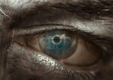 Het oog van de kring Stock Afbeelding