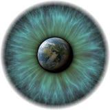 Het oog van de planeet stock illustratie