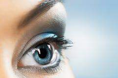 Het oog van de schoonheid Royalty-vrije Stock Foto
