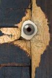 Het oog van de spion Royalty-vrije Stock Foto