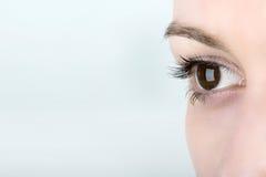 Het oog van de vrouw Royalty-vrije Stock Fotografie