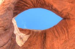 Het Oog van de zon, de Vallei van het Monument Stock Afbeelding