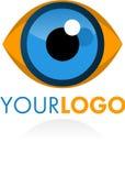 Het oog van het embleem Stock Foto's