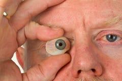 Het oog van het glas Royalty-vrije Stock Afbeeldingen