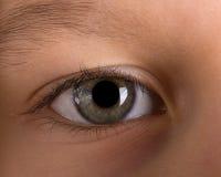 Het oog van het kind Stock Foto's