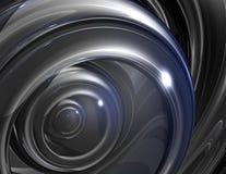 Het oog van het staal Stock Foto