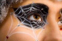 Het oog van het Web royalty-vrije stock foto's