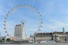 Het Oog van Londen Royalty-vrije Stock Afbeeldingen