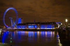 Het oog van Londen Royalty-vrije Stock Foto's