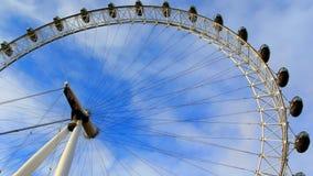 Het oog van Londen stock video