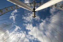 Het oog van Londen in detail Royalty-vrije Stock Foto