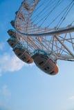 Het oog van Londen is een reuzedieReuzenrad op 31 December 1999 wordt geopend Stock Afbeelding