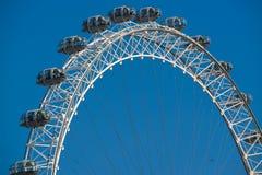 Het oog van Londen, Engeland Stock Foto's