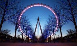 Het Oog van Londen, het UK Stock Foto