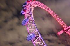 Het oog van Londen, het Verenigd Koninkrijk royalty-vrije stock afbeeldingen