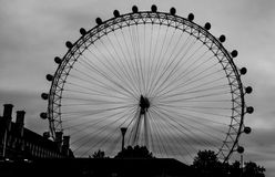 Het Oog van Londen in Londen Royalty-vrije Stock Foto's