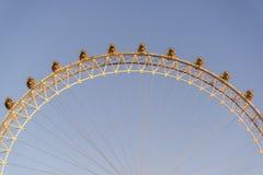 Het Oog van Londen, Londen, het UK stock afbeelding