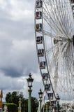 Het oog van Parijs Stock Afbeeldingen
