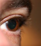 Het oog ziet u Royalty-vrije Stock Afbeeldingen