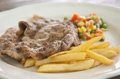 Het ooglapje vlees van de rib Stock Afbeeldingen