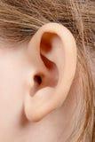 Het oor van het kind royalty-vrije stock afbeelding