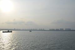 Het Oostelijke Alpha- Voor speciale doeleinden Anchorage van Singapore royalty-vrije stock foto's