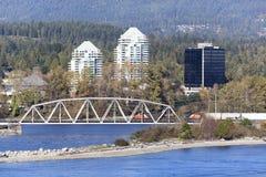 Het oosten en West-Vancouver Royalty-vrije Stock Fotografie