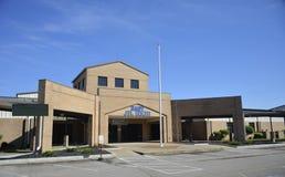 Het oosten Junior High School Main Entrance, Somerville, TN royalty-vrije stock foto