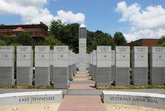Het oosten Tennessee Veterans Memorial Stock Foto's