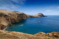 Het oosten van het eiland van Madera Stock Foto