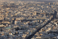 Het Oosten van Parijs Stock Fotografie