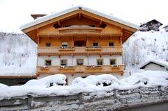 Het Oostenrijkse Huis van de Berg Royalty-vrije Stock Afbeelding
