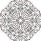 Het oosterse naadloze patroon van Paisley in pastelkleuren Decoratieve ornamentachtergrond voor stof, textiel, verpakkend documen royalty-vrije illustratie