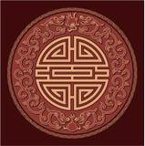 Het oosterse Patroon van Feng Shui Royalty-vrije Stock Foto's