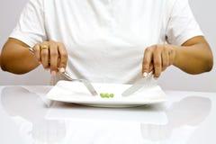Het op dieet zijn Royalty-vrije Stock Afbeelding
