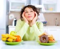 Het op dieet zijn concept royalty-vrije stock foto's