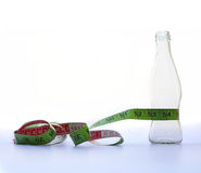 Het op dieet zijn en gewichtsverliesconcept Royalty-vrije Stock Foto's