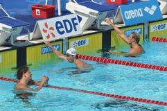 Het open EOF 2010 Parijs, Michael Phelps stock foto