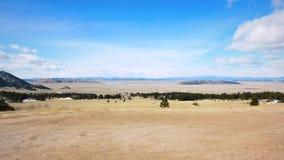 Het open Landschap van Colorado royalty-vrije stock afbeeldingen