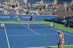 Het open tennis van de V.S. Royalty-vrije Stock Afbeeldingen