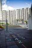 Het openbare landgoed van Hongkong Stock Foto's