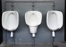 Het openbare toilet van Mens Royalty-vrije Stock Afbeelding