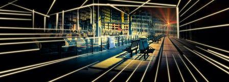 Het openbare vervoer van Den Haag Stock Afbeeldingen
