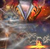 Het openbaren van God royalty-vrije illustratie