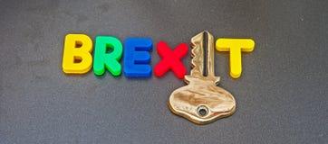 Het openen van BREXIT Stock Foto's