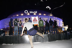 Het openen van de O2-Wereldarena Stock Fotografie