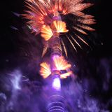 """Het openen van het festival """"Cirkel van Moskou van het licht"""" Royalty-vrije Stock Foto's"""