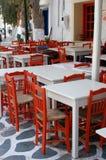 Het openlucht Dineren Stock Afbeelding