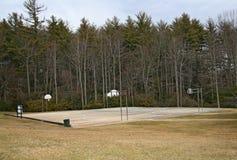 Het openlucht Hof van het Basketbal Stock Afbeelding